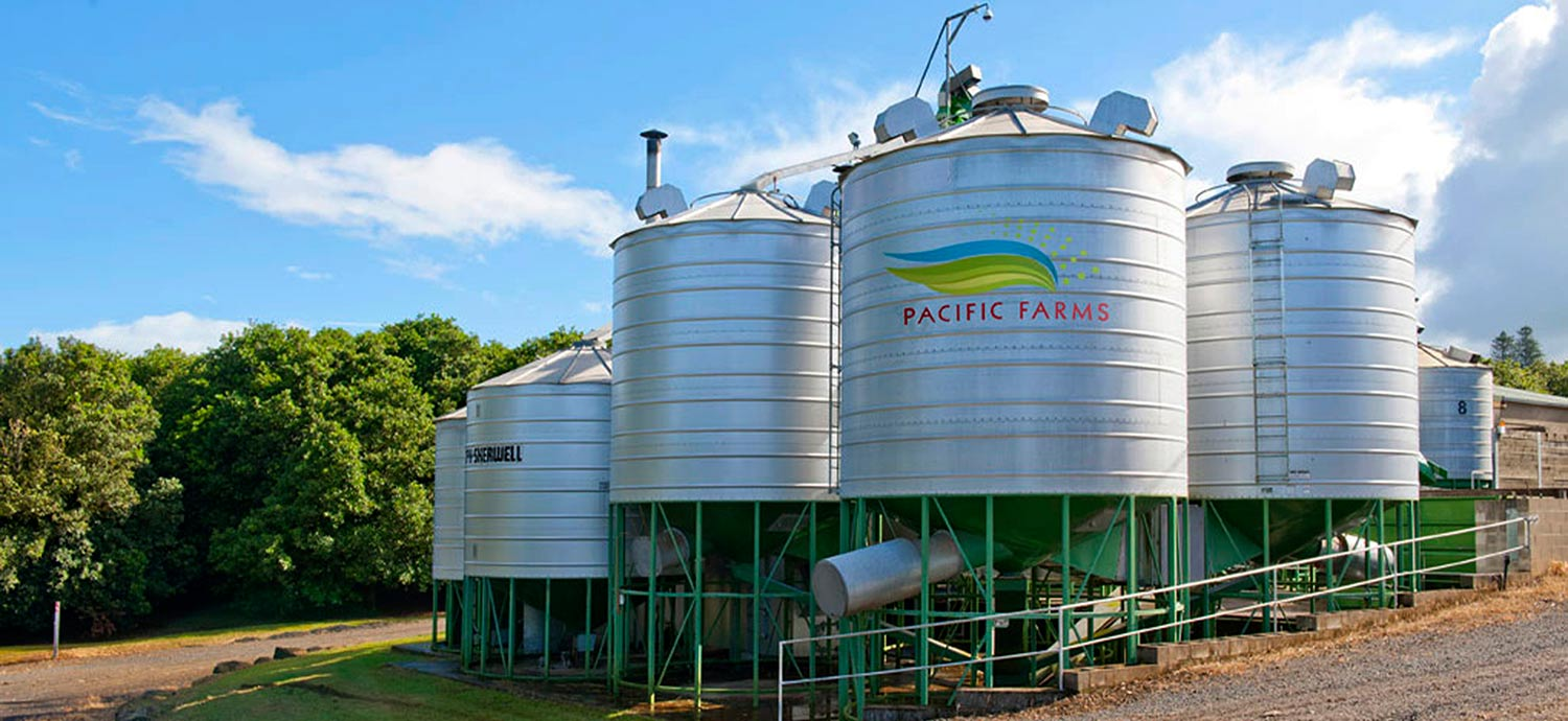 Pacific Farms Silos